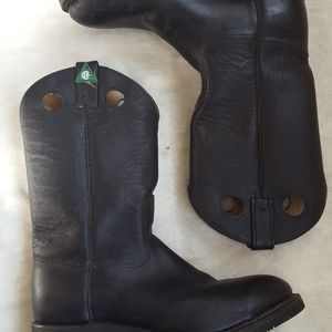 Western Style Safety Boot With Oil, Abrasion and S